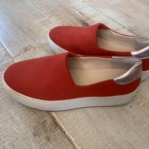 Orange Zara Sneakers